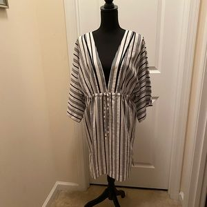 3/4 Sleeve Land's End Swimsuit Cover up